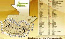Volcanes de Guatemala y su ubicación