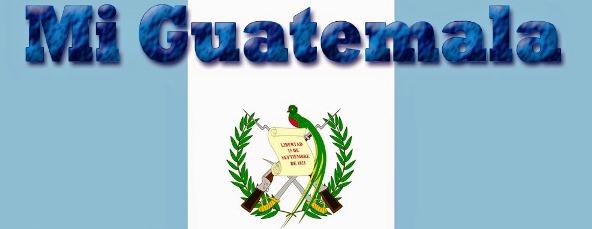 Bandera de Guatemala con frases