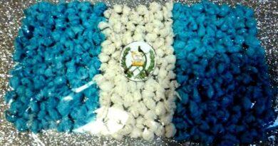 ¿Cómo hacer una bandera de Guatemala con material reciclable?